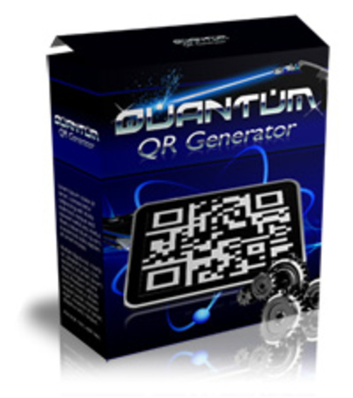 Product picture Quantum QR Generator Software with MRR + Salespage