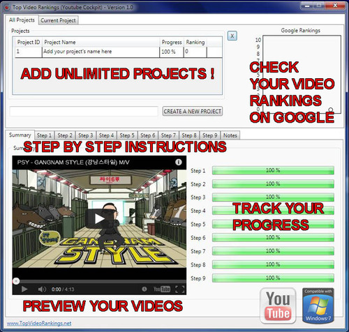 Product picture YouTube Ranking Software - Video Rankings v1.0